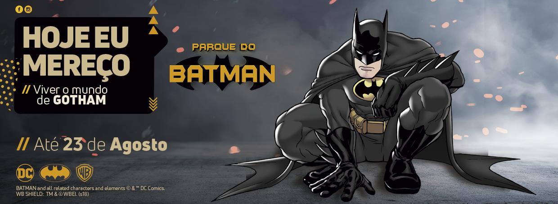 Parque inédito do Batman no Brasil chega a Campo Grande