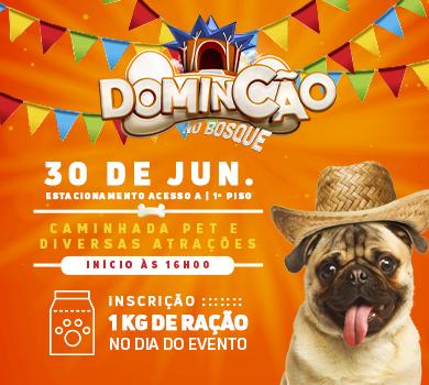 Domincão Junino acontece no próximo dia 30 no Shopping Bosque dos Ipês