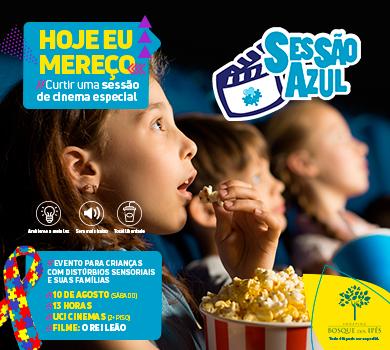 Sessão de cinema adaptada para crianças com distúrbios sensoriais acontece neste sábado na Capital