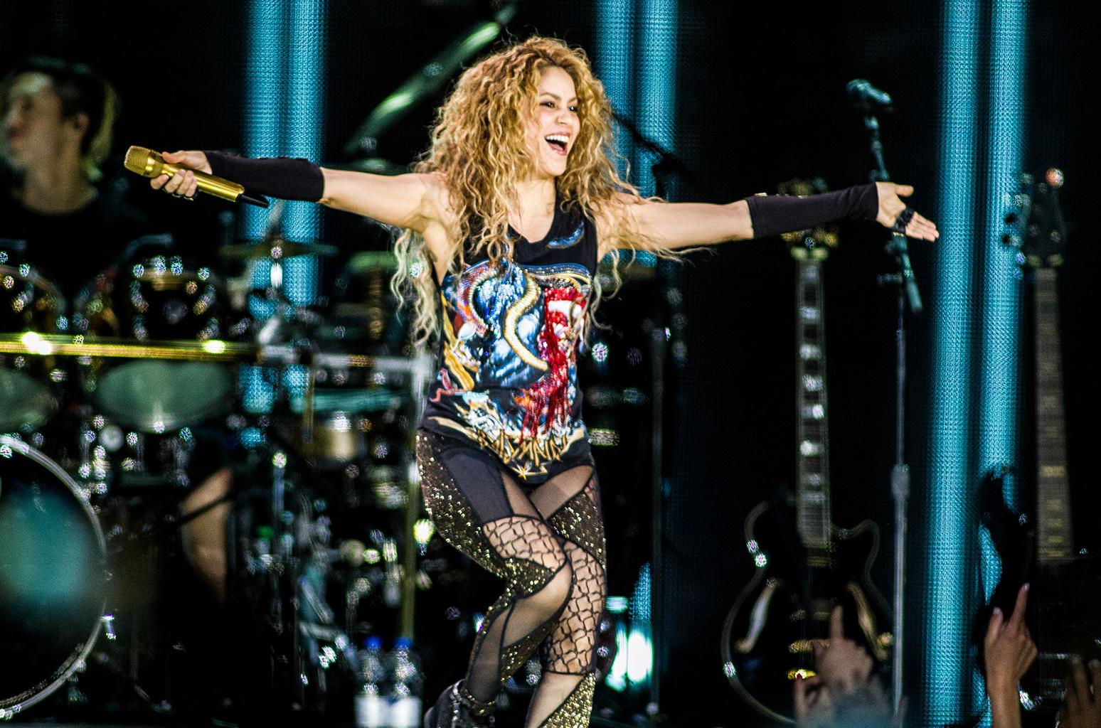 Turnê de Shakira vira filme e será destaque em novembro na UCI