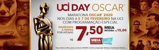 Cinema UCI faz maratona com finalistas do OSCAR® 2020