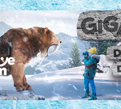 Abaixo de zero: shopping traz exposição internacional e parque com tema da Era do  Gelo